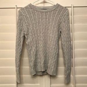 Karen Scott Gray Sweater Shirt XS